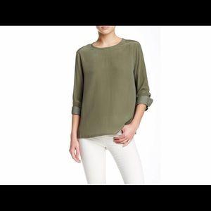 EQUIPMENT Oversized Liam Silk Blouse/Shirt
